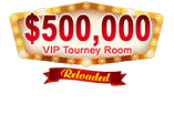 $500,000 VIP Tourney Room takes you to Vegas!