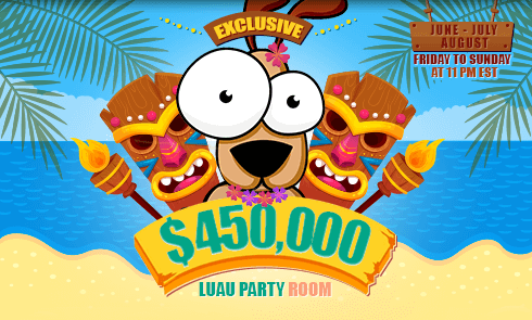 $450,000 Exclusive Luau Party Room