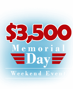 $3,500 Memorial Day Weekend Event – May 24th- 27th Main Room
