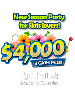 New Season Party for Slots lovers!