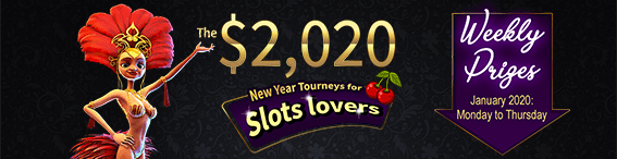 The $2,020 New Year Tourneys for Slots lovers