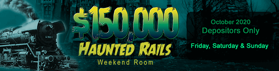 $150,000 Haunted Rails Weekend Room