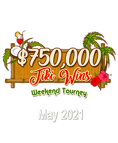 $750,000 Tiki Wins Weekend Tourney – Fair and Square Bingo
