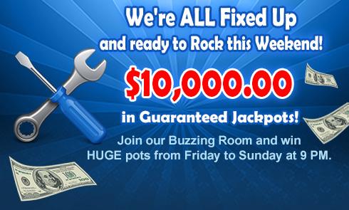 $10,000.00 Buzzing Room