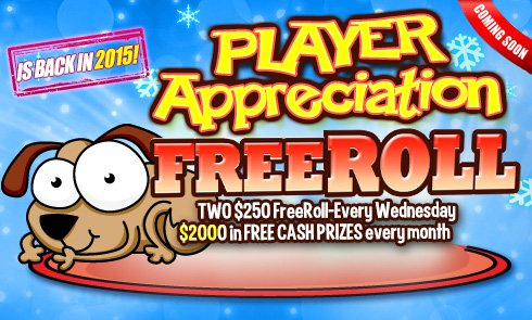 Player Appreciation Day is back in 2015!