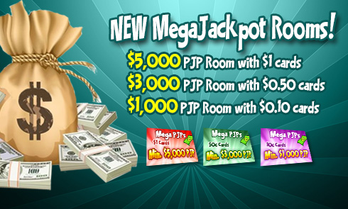 NEW MegaJackpot Rooms!
